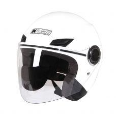 Шлем открытый INFLAME PATRIOT моно, белый...